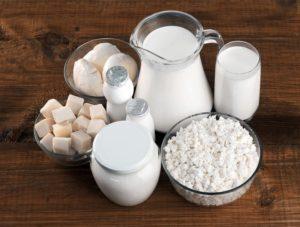 latte e latticini foto
