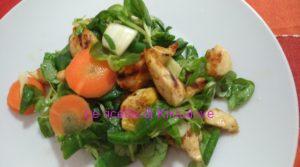 insalatona con pollo speziato senza istamina