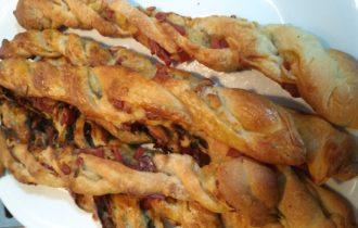 frusrtine di patate e crudo senza nichel